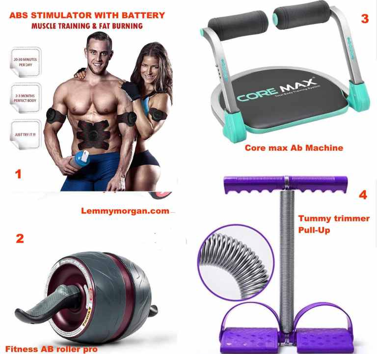 4 cheapest tummy/muscle trainers