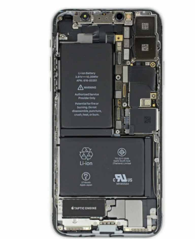 iPhone dual Sim skeletal framework