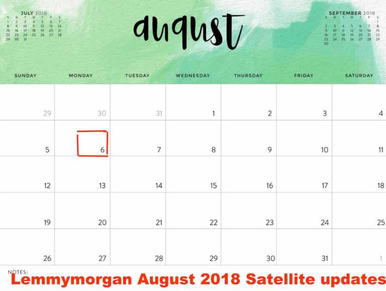 Lemmy morgan update August 2018