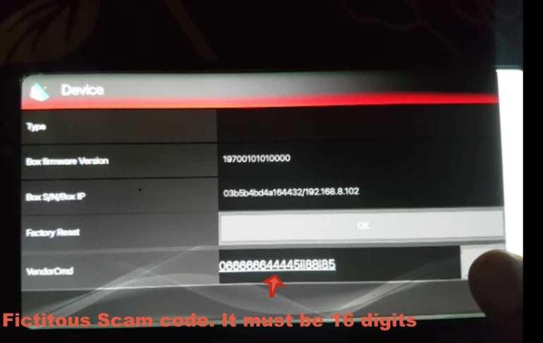 Hellobox Smart S2 Scam code