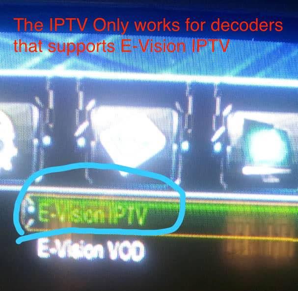 E-Vision IPTV sales