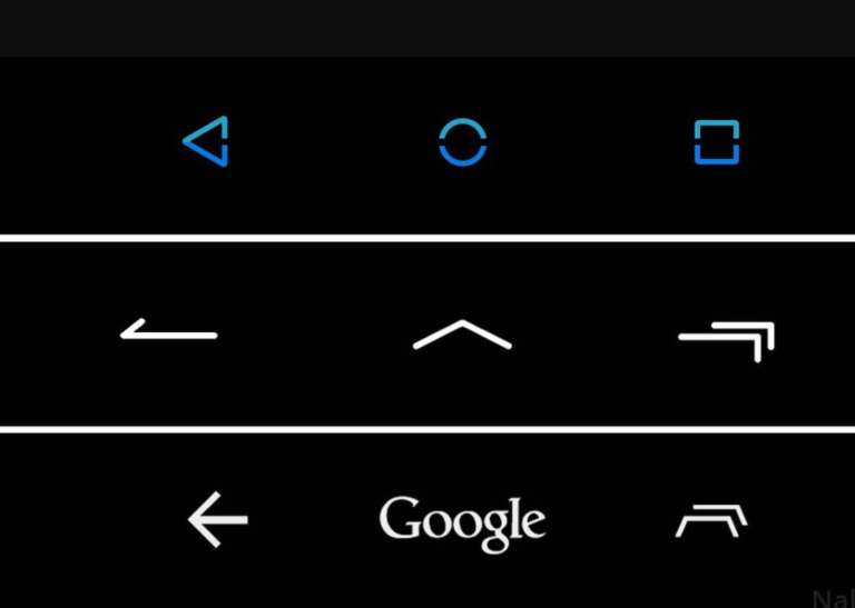 Android Navigation buttons turned shortcuts