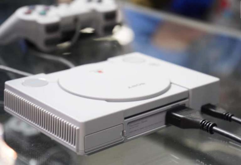 Sony PS Classic HDMI and USB Interfaces