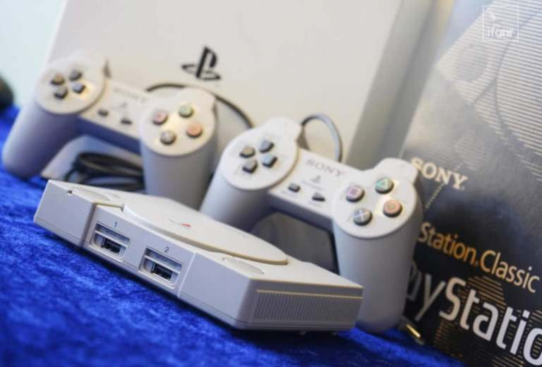 Sony PS Classic front view