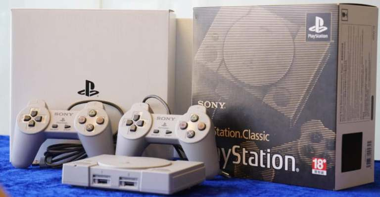 sony PlayStation Classic fully unboxed