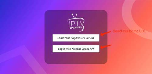 "iptv smarter ""load your playlist url on android"