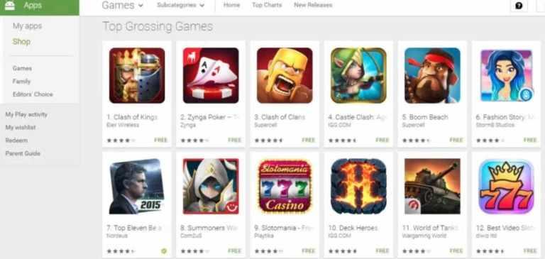 smartphones games ecosystem