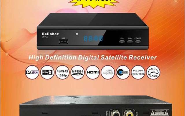 Hellobox V5 Plus Receiver