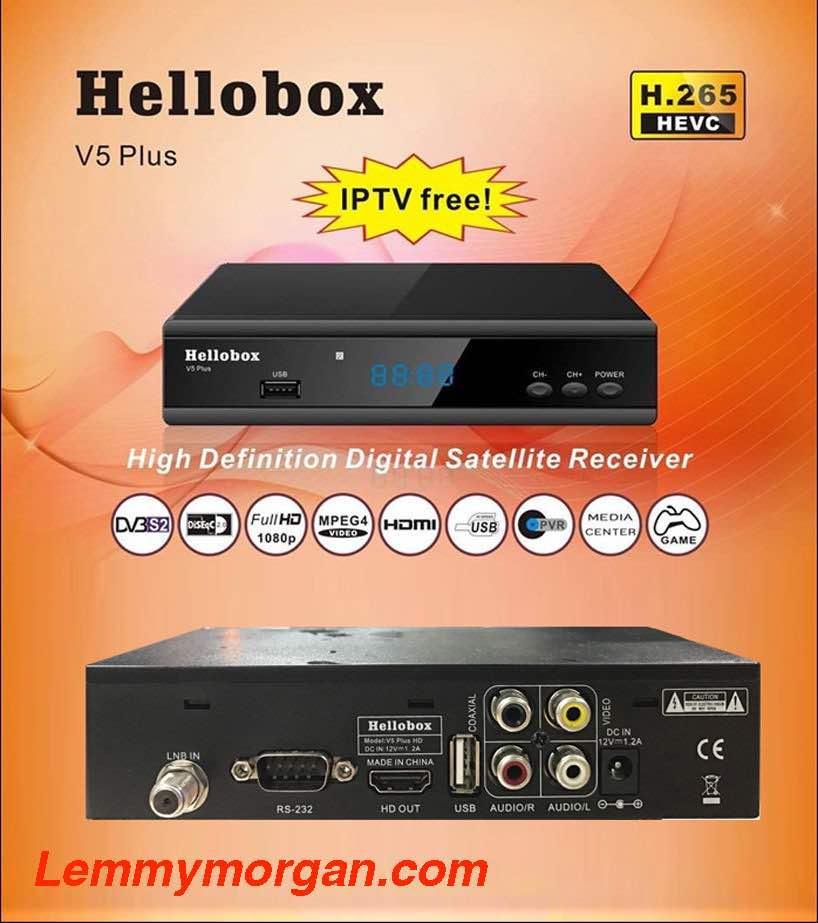 Hellobox V5 Plus Receiver