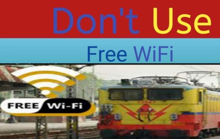 avoid using free Wi-Fi