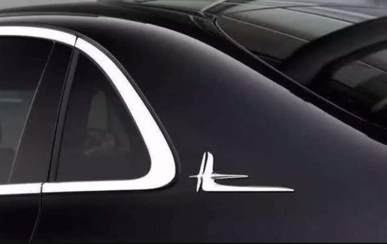 real reason behind the deformed L logo on some benz models