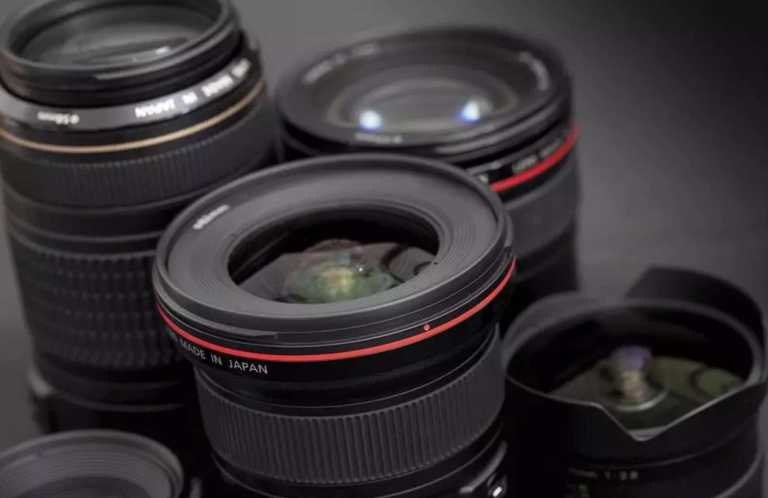 interchangeable and detachable zoom lens for cameras