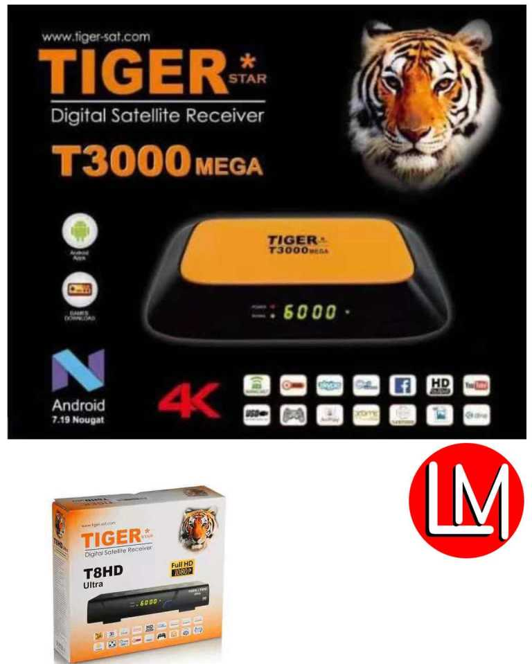 forever account on tiger t3000 mega and t8hd ultra