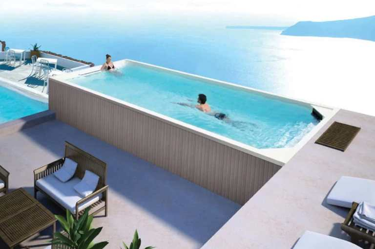 Cost of infinity pool based on the size