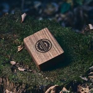 Cutie lemn masiv NUC + Stick USB Lemn 3.0