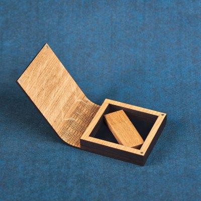 Cutie lemn Stejar Modern