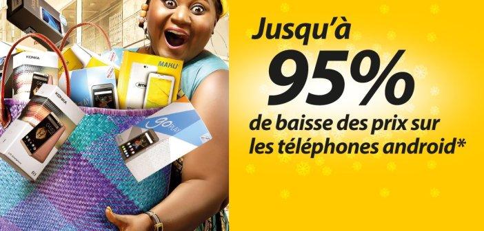 Jusqu'à 95% de Baisse des Prix sur les Téléphones chez MTN Cameroon, Publicité Mensongère?