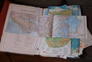 National Geographic Society Atlas Folio