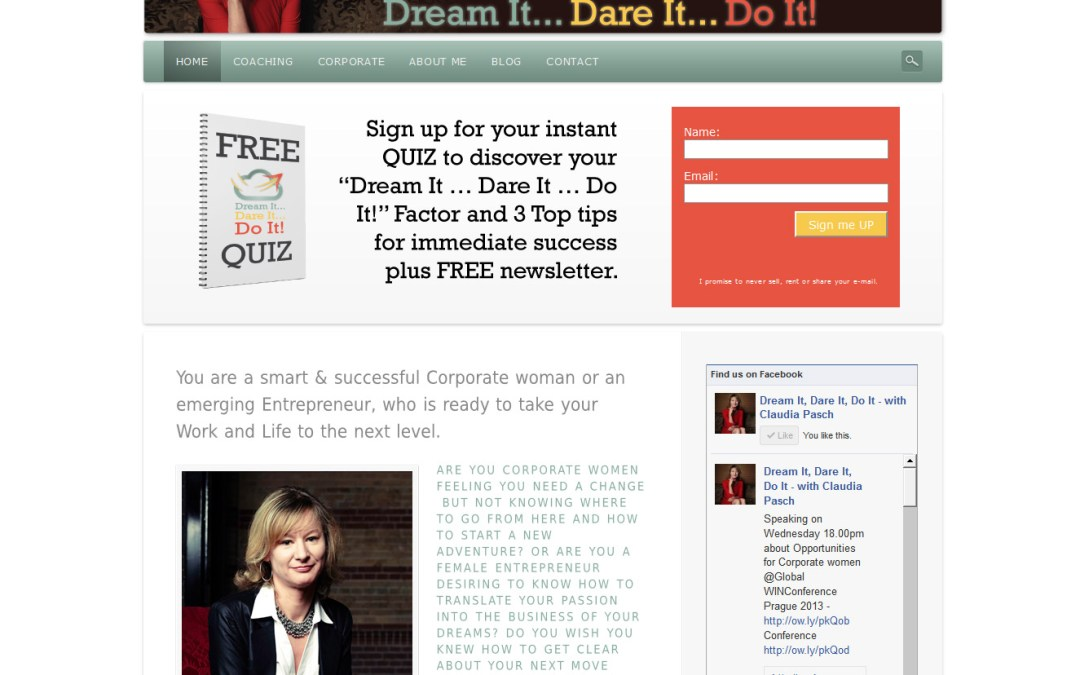 Dream It… Dare It.. Do It! Goes live