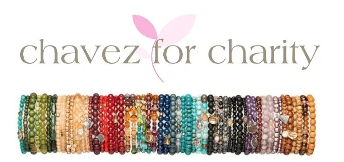 Chavez for Charity bracelets