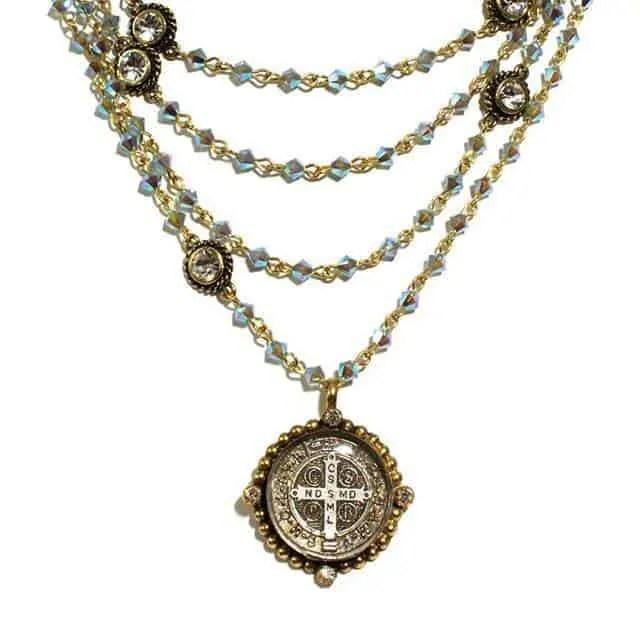 Virgins Saints & Angels - San Benito Medallion