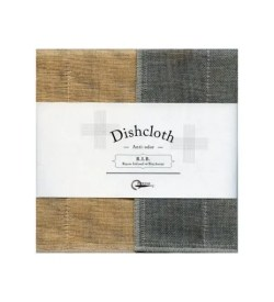 Nawrap Dishcloth Peach w/ Binchotan Charcoal
