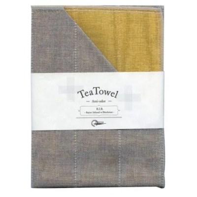 Nawrap Tea Towel Tangerine w/ Binchotan Charcoal