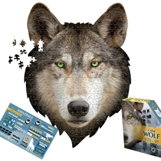 550 Piece Madd Capp Wolf Puzzle