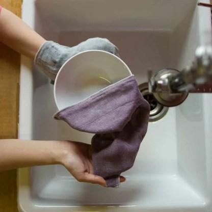 Nawrap Dishcloth w/ Binchotan Charcoal
