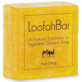 Primal Elements Loofah Soap - Tahitian Vanilla