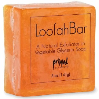 Primal Elements Loofah Soap - Sunrise Sunset