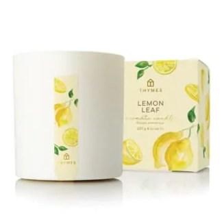 Lemon Leaf Poured Candle