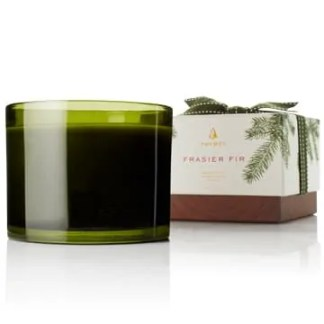 Frasier Fir Green 3 Wick Candle
