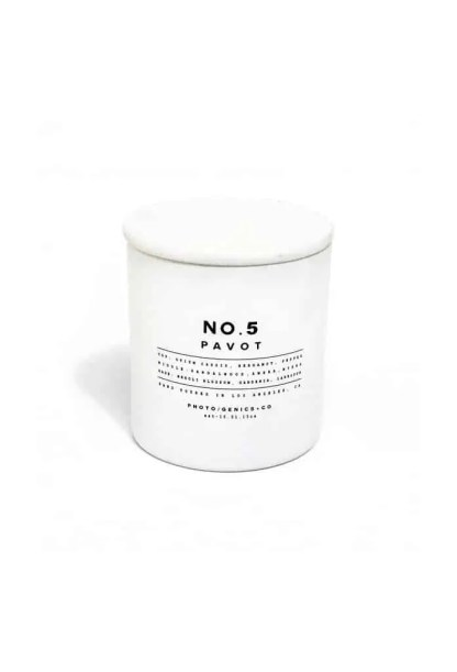 Photogenics + Co No. 5 Glass Candle