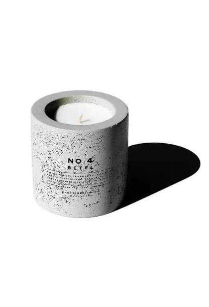 Photogenics + Co No. 4 Concrete Candle