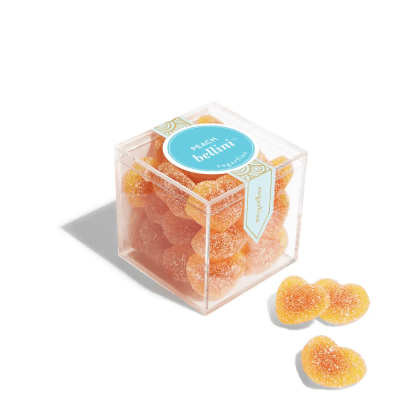 Sugarfina Peach Bellini Gummie Hearts