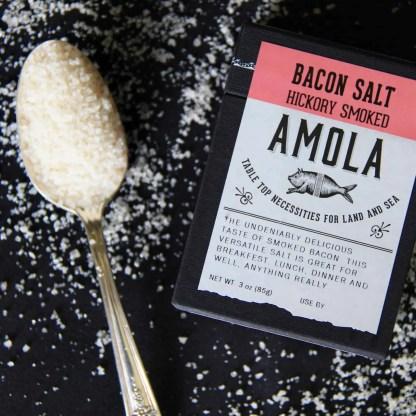 Amola Salts Smoked Bacon Salt