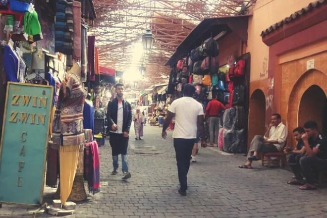 souk hamam à marrakech