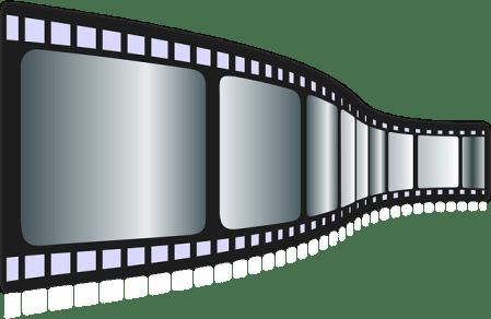 la communication audiovisuelle , videos corporate , pellicule cinematographique
