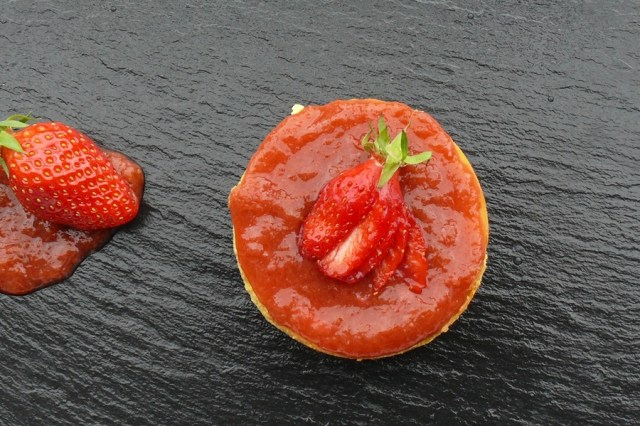 cheesecake fraise rhubarbe