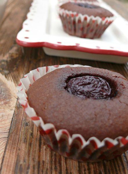 brownies cerises