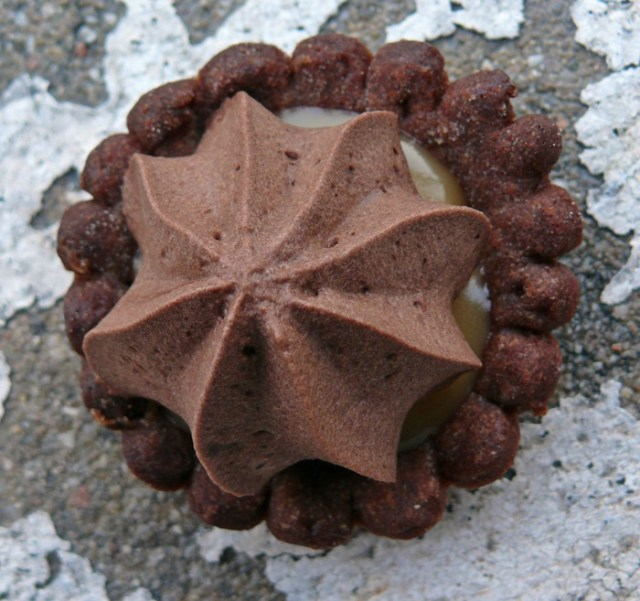 mini tartelettes chocolat caramel cacahuètes