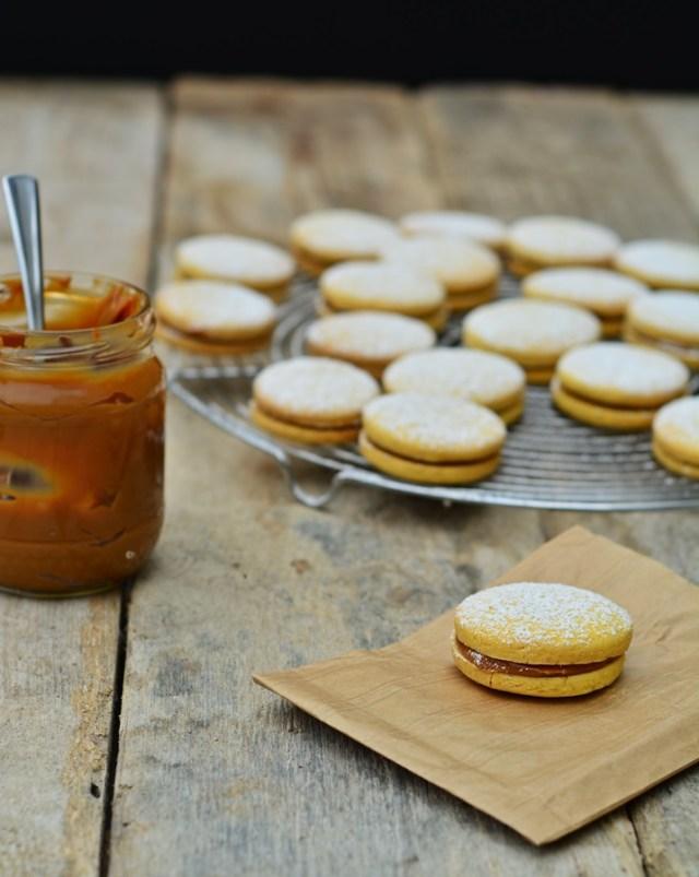 alfajores : biscuit à la maïzéna