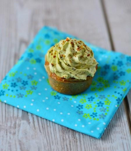 cupcakes pesto tomates chèvre