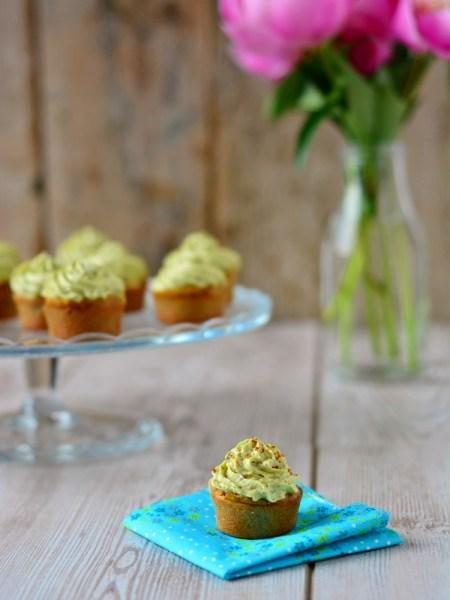 cupcakes apéritif pesto tomates chèvre