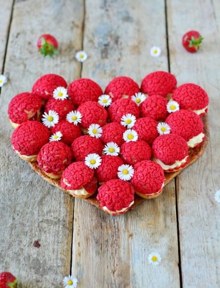 coeur de choux fraises cardamome