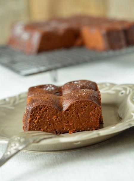 fondant chocolat et potimarron