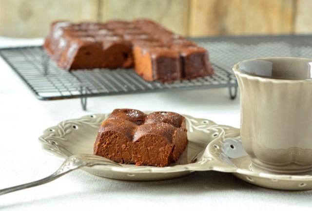 fondant chocolat potimarron