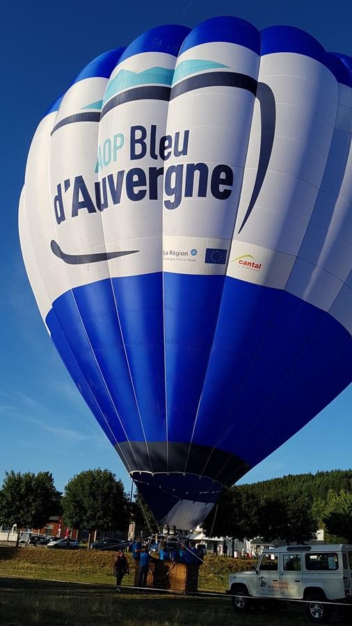 ballon AOP Bleu d'Auvergne