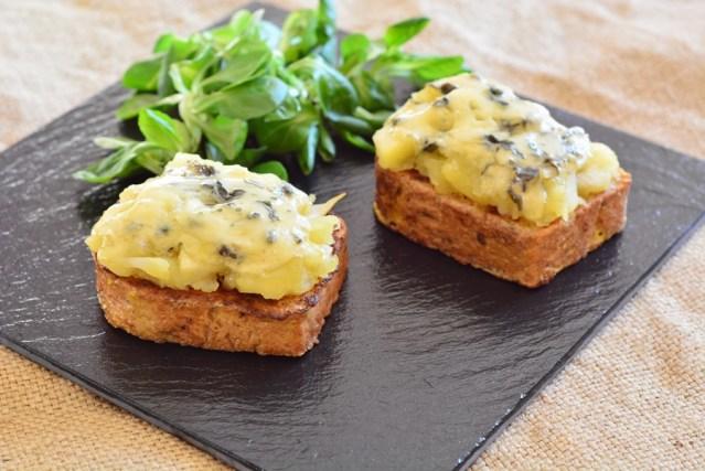 pain perdu bleu Auvergne